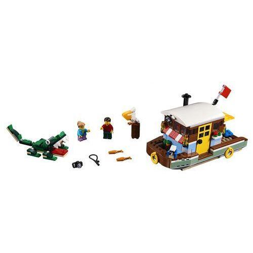31093 ŁÓDŹ MIESZKALNA (Riverside Houseboat) KLOCKI LEGO CREATOR