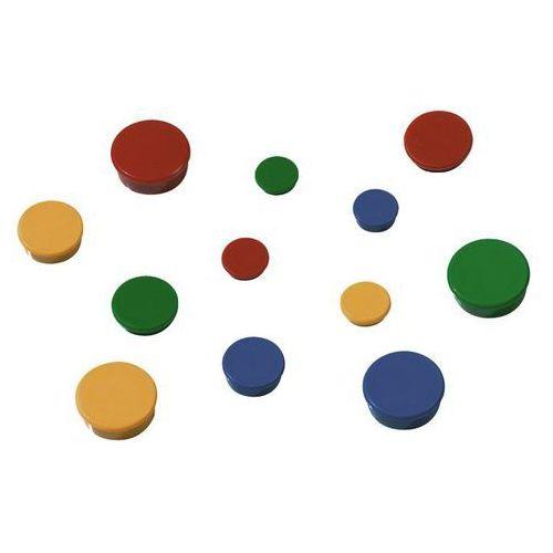 Magnesy okrągłe 2x3 10 szt. średnica 30mm