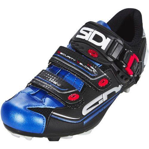 eagle 7 buty mężczyźni niebieski/czarny 45,5 2018 buty mtb zatrzaskowe marki Sidi