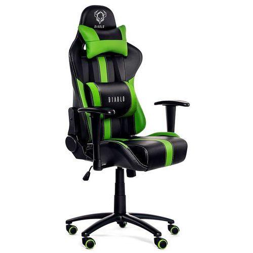 Fotel DIABLO CHAIRS X-Player Czarno-zielony + Zamów z DOSTAWĄ JUTRO!
