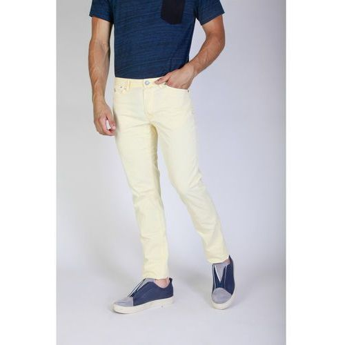 Spodnie męskie JAGGY - J1883T812-Q1-88, kolor żółty