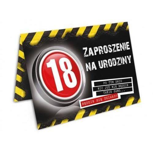 Zaproszenie na 18-tke danger - 1 szt. marki Dp