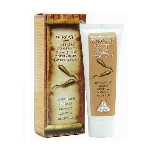 Krem Wirovit Krem-balsam do masażu z pijawką lekarską 75ml