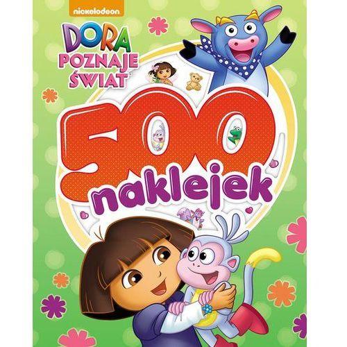 Dora poznaje świat. 500 naklejek - Jeśli zamówisz do 14:00, wyślemy tego samego dnia. Darmowa dostawa, już od 300 zł.
