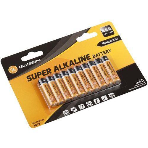 Baterie alkaliczne aaa lr03 (10 sztuk) marki Gogen