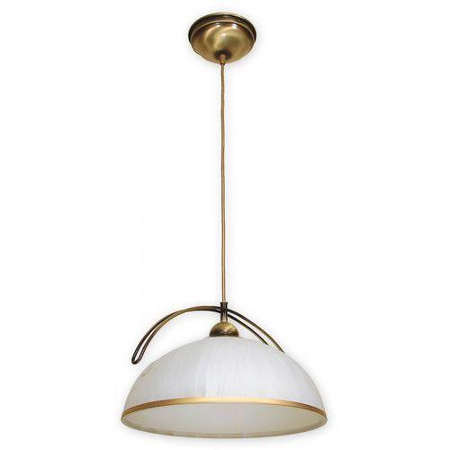 Lampa wisząca zwis flex 1x60w e27 patyna o1487pat marki Lemir