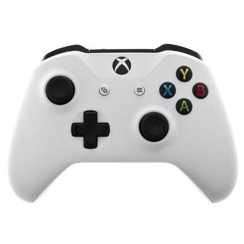 Kontroler xbox one biały + zamów z dostawą jutro! + darmowy transport! marki Microsoft