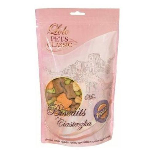 Lolo pets  treserki ciasteczka-kości dla psa rozmiar s mix smaków, kategoria: przysmaki dla psów