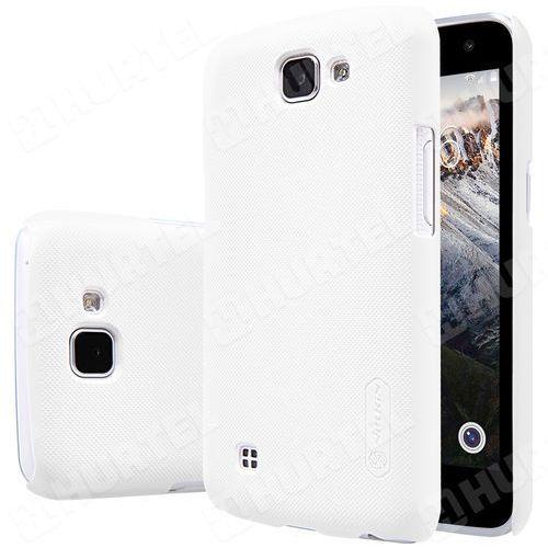 NILLKIN etui Super Frosted Shield LG K4 białe + folia ochronna - Biały - sprawdź w wybranym sklepie