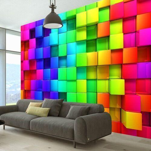 Artgeist Fototapeta - kolorowe sześciany