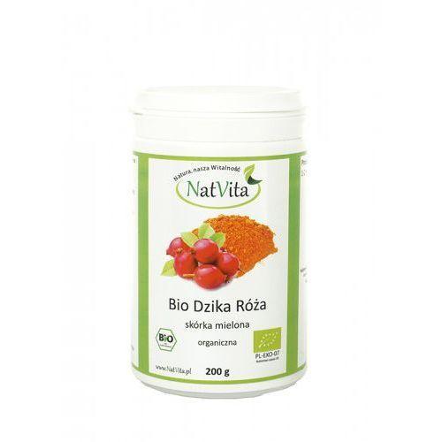 Dzika róża skórka mielona BIO 200g z kategorii Zdrowa żywność