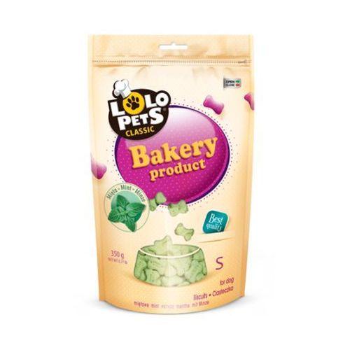 ciastka dla psa kości s miętowe 350g marki Lolo pets
