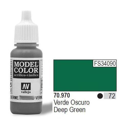 vallejo farba nr72 deep green matt 17mlmatt marki Vallejo