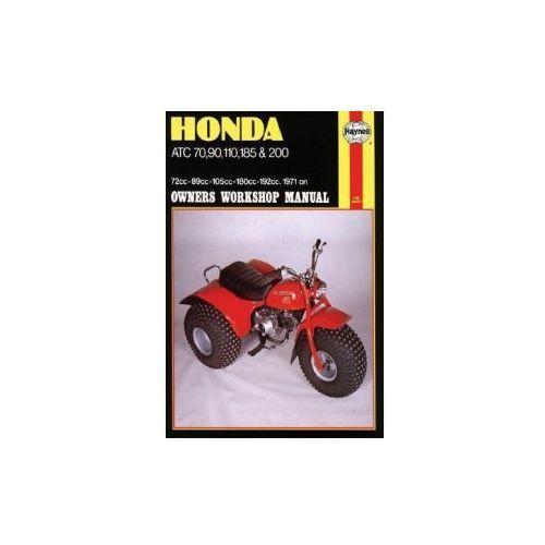 Honda ATC70, 90, 110, 185 and 200 Owner's Workshop Manual