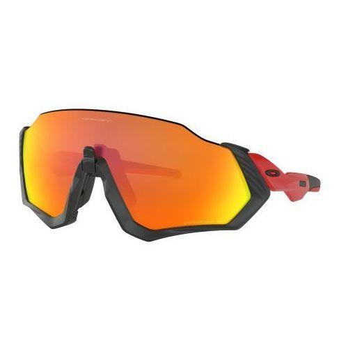 Okulary flight jacket redline prizm ruby polarized oo9401-0837 marki Oakley