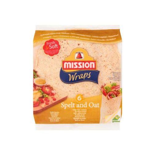 Tortilla pszenna orkiszowo-owsiana 6szt (8710637104843)