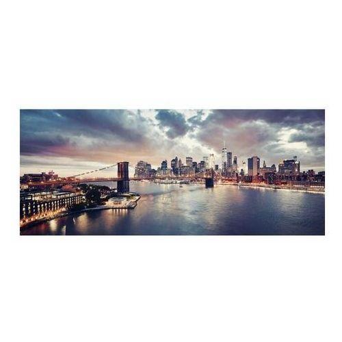 Obraz Glasspik Sunset Brooklyn 50 x 125 cm (5902841509856)
