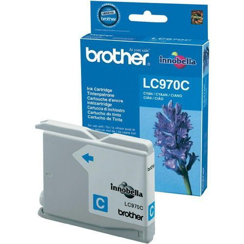 Brother oryginalny ink LC-970C, cyan, 300s, Brother DCP-135C, 150C, MFC-235C, 260C, IBRLC970CXCG (6282764)