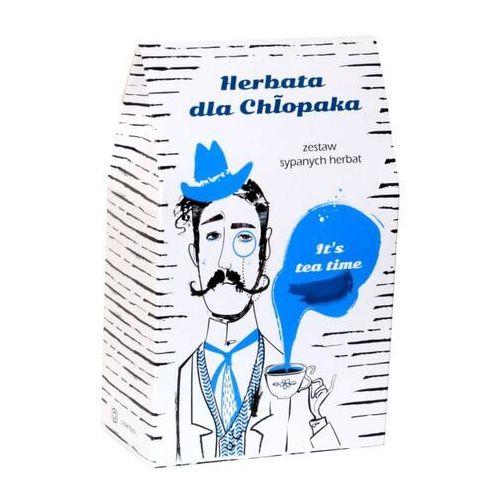 Herbata dla Chłopaka - zestaw 10 wysokiej jakości herbat smakowych dla mężczyzny w opakowaniu prezentowym 9x5g+1x8g