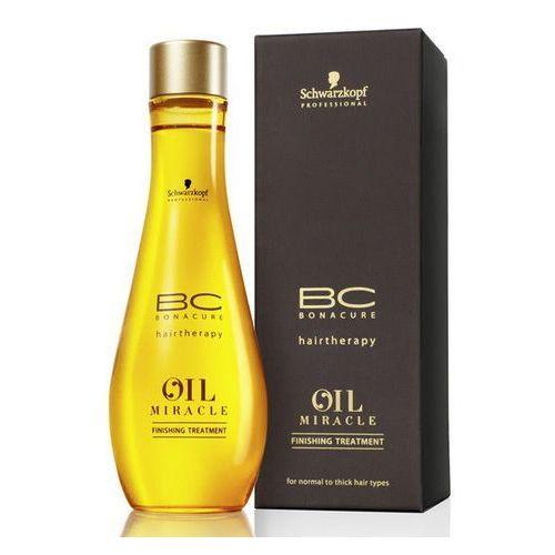 Schwarzkopf bc oil miracle maseczka do pielęgnacji końcowej z olejkiem arganowym olejek czarny 100 ml