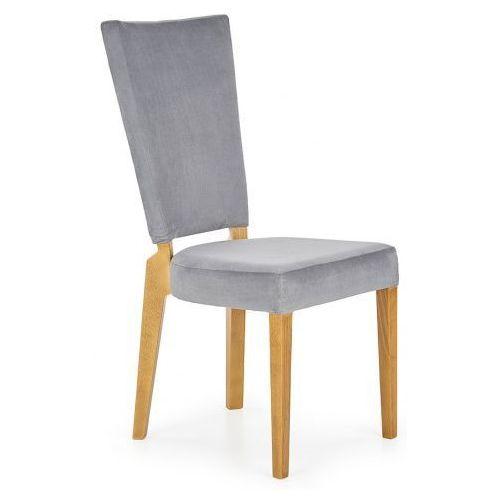 Krzesło drewniane Amols - popielate