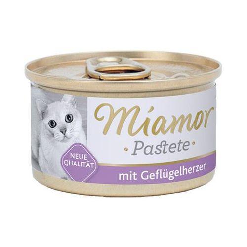 Miamor  katzenzarte fleischpastete - pasztet mięsny smak: serca drobiowe 85g