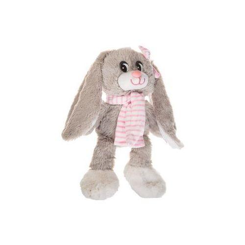 Axiom Maskotka królik nina z szalem różowym 30 cm - darmowa dostawa od 199 zł!!! (5902002997645)