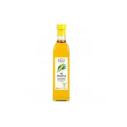 Olej kukurydziany tłoczony na zimno nieoczyszczony 500 ml marki Olvita