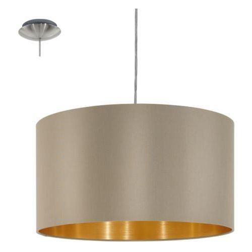 lampa wisząca MASERLO ciemnoszara - 38 cm, EGLO 31602