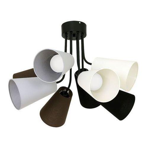 Lampa sufitowa tubles 8xe27/60w/230v marki Luminex