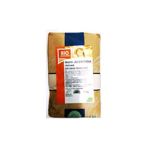 Mąka jęczmienna pełnoziarnista BIO 1kg BioHarmonie (8594008910031)