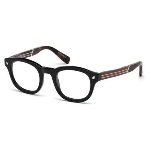 Okulary korekcyjne dq5230 001 marki Dsquared2