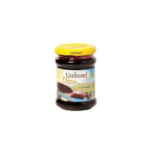 Dżem z czarnej porzeczki wysokosłodzony 300 g Unamel (5902468101129)