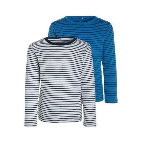 Name it NITVILLYES SLIM 2 PACK Bluzka z długim rękawem insignia blue/campanula
