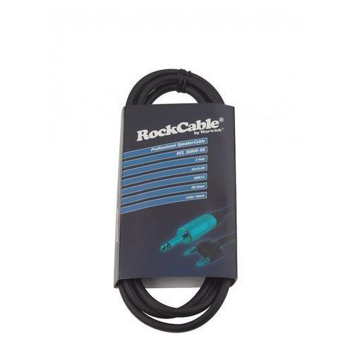 Rockcable przewód głośśnikowy - banana plug (4 mm) / straight ts plug (6.3 mm) - 2 m / 6.6 ft.