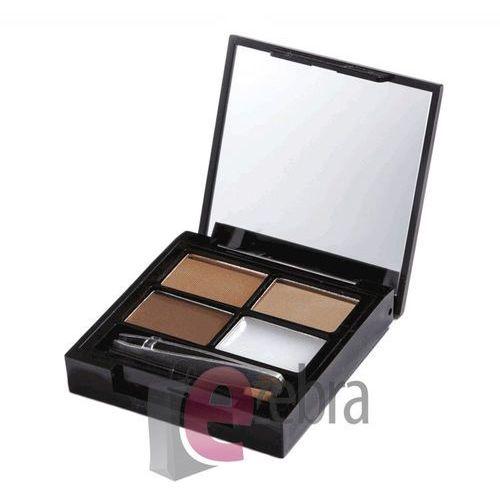 Focus & Fix Eyebrow Shaping Kit zestaw do makijażu i regulacji brwi Medium Dark 5,8g - Makeup Revolution