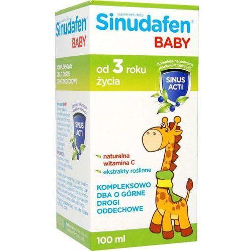 Sinudafen baby syrop dla dzieci 100ml marki Nord farm
