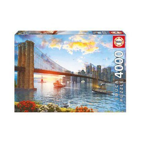 Puzzle 4000 elementów, most brookliński - darmowa dostawa od 199 zł!!! marki Educa