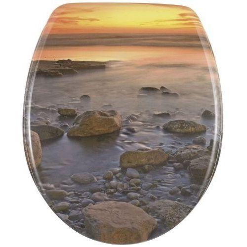 Wenko Deska sedesowa stone shore - duroplast, (4008838176122)
