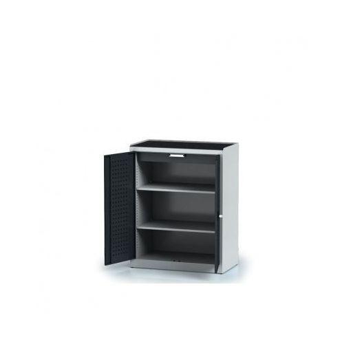 Alfa 3 Szafa warsztatowa - 2 półki, 1 szuflada