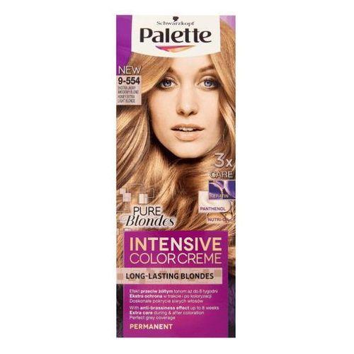 Palette intensive color creme krem koloryzujący nr 9-554 ekstra jasny miodowy blond 1op. marki Schwarzkopf