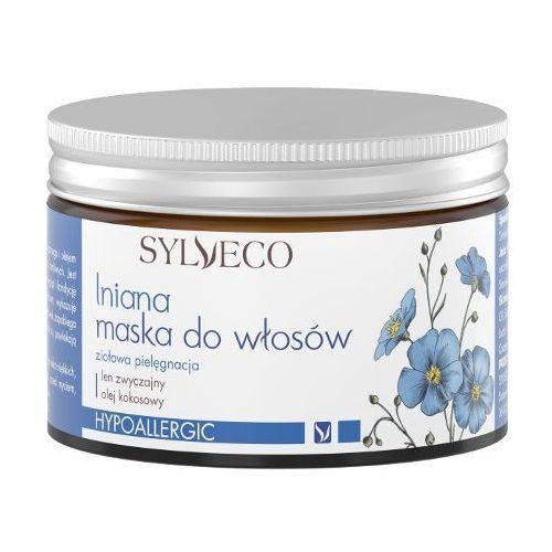 Lniana maska do włosów marki Sylveco