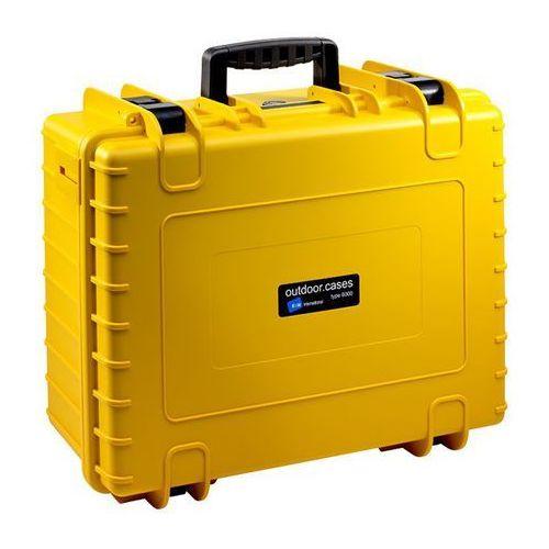 Walizka B&W do DJI Phantom 4 Pro żółta