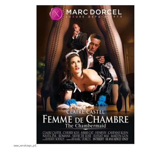 Marc dorcel (fr) Dvd marc dorcel - claire castel, the chambermaid