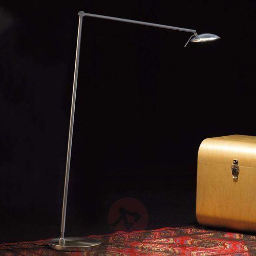 Knapstein lampa podłogowa LED Nikiel matowy, 1-punktowy - Nowoczesny - Obszar wewnętrzny - Knapstein - Czas dostawy: od 8-12 dni roboczych