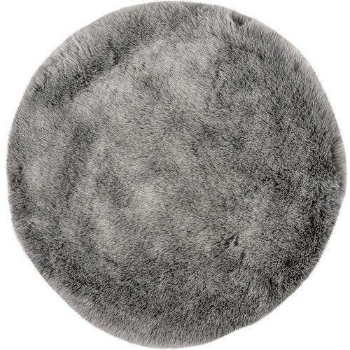 Dywan Samba okrągły 80 cm srebrny (4054293090589)