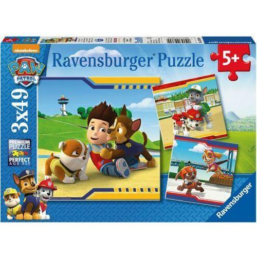 Puzzle 3x49 el. Psi Patrol. Najlepsi Przyjaciele (4005556093694)