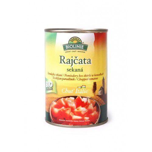 Pomidory krojone kawałki BIO 400g Biolinie