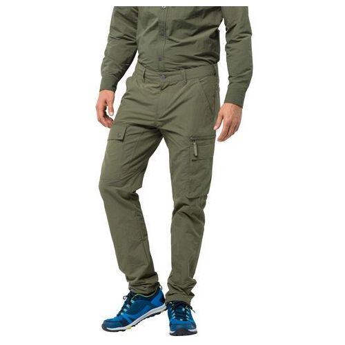 Męskie spodnie trekkingowe LAKESIDE PANTS M woodland green - 94, kolor zielony