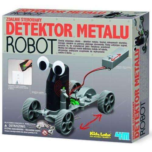 4M Zabawka kreatywna Detektor metalu robot